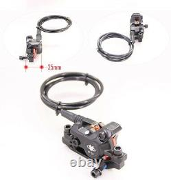 E-Bike Brake Hydraulic Disc Cut Off Power Brake 2 Pin Plug Set Front + Rear