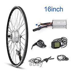 E Bike Conversion Kit 24V 250W Front Motor Wheel 24 20 16 inch Electric gear