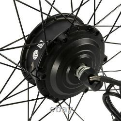 E-Bike Conversion Kit 28 Frontmotor 36V 250W Vordemotor +36V 15,6Ah Li-ion Akku