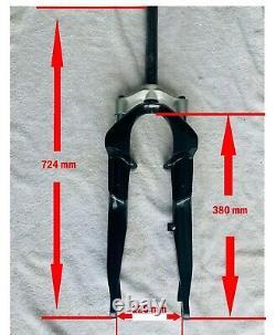 E-Bike Front Fork for (RIDE+ ebike Front motor hub Fork)