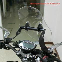 E-Bike Front Windshield Windshield Thickened universal Motorcycle Windscreen
