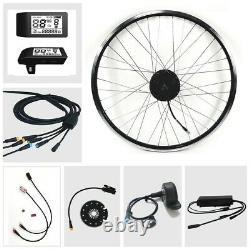 E-Bike Umbausatz Bafang Motor 36V 250Watt G. 010. D mit LCD 500S Front Vorderrad