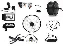 E-Bike Umbausatz Bafang Motor 36V 350Watt G. 020. D mit LCD 500S Front Vorderrad
