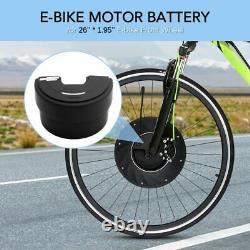 E-bike 36V 3200mAh Front Battery for iMortor Electric Bike 36V Black Bicycle New