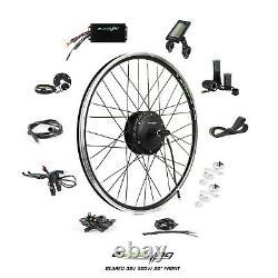 EBikeling Waterproof 36V 500W 26 Geared Front e-Bike Bicycle Conversion Kit