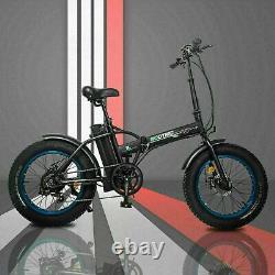 ECOTRIC 20 48V 12.5 AH 500W Folding Electric Bike Beach Bicycle City Ebike LCD