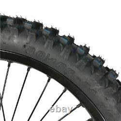 Ebike Bicycle 21 Motorcycle Rim Front Wheel Match Our Rear Wheel Kit 26''x3.0