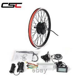 Ebike Conversion Kit 36V 250W hub Brushless Motor bicycle Wheel 20-29in 700C