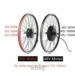 Ebike Conversion Kit 48V Mountain Electric Bicycle DIY Kit with KT-LCD8 Display