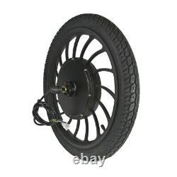 Ebike Electric Bicycle 48V 1000W Front or Rear Motoriz Integral Motor Wheel 20'