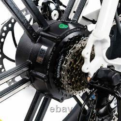 Electric Bicycle 750W 20 Moped Bike Addmotor MOTAN M-66 R7 Step-Thru E-bike LCD