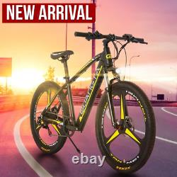 Electric Bicycle Bike Mountain Ebike Beach Snow 750W 48V 15Ah Fat Tire 27