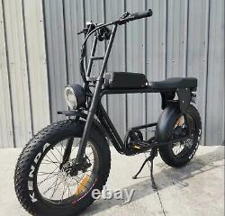 Electric Bike Ebike 2 seater 10.4ah powered lithium battery 48v 500w 31 to 60kmh