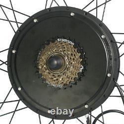 Electric bike Conversion Kit Bluetooth 48V 1500W eBike front Rear Motor Wheel