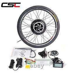 Electric bike Motor Wheel 48V 500W 1000W 1500W ebike Conversion Kit 20-29in
