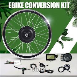 Elektrisch E-Bike Umbausatz Vorderrad Motor Hub 36V 350/500W 16-29in 700c