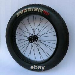 Fat Tire Bicycle Ebike Conversion Kit 250W 500W 1000W 20'' 24'' 26'' Tyres