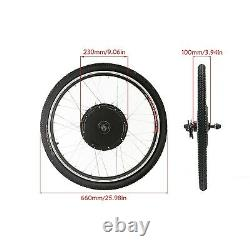 Front / Rear 48V 1000W 26 Electric Bicycle Wheel Ebike Hub Motor Conversion Kit