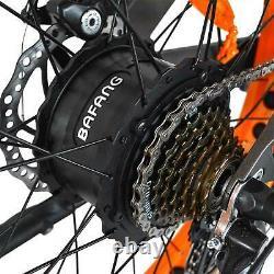 Front Suspension 750W Fat Tire Electric Bike Addmotor M-560 P7 Mountain EBike