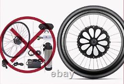 Front Wheel 26 battery inside Electric Bicycle Motor E-Bike Conversion Kits