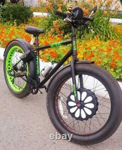 Front Wheel 264 Fat bike battery inside Electric Motor E-Bike Conversion Kits