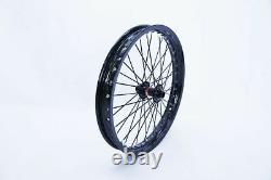 Front Wheel Ebike Matching Hub 20mm110 Drop Out Mtx Bicycle Rim 17 18 19