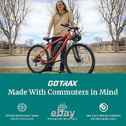Go Trax Traveler 29'' E-bike 48v 10ah 500w 3 Speed Front Suspension Disc Brakes