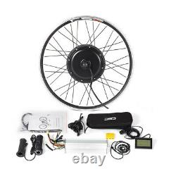 MTB E-bike Conversion Kit with KT-LCD3 Display Front/Rear Wheel Brushless Motor