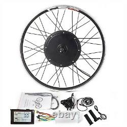 MTB E-bike Front/Rear Wheel Conversion Kit with SW900 Display Controller PAS