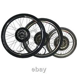 MTB E-bike Rear Wheel Replacement With Tire and Tube 36/48V Brushless Motor