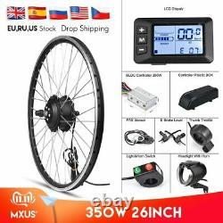 MXUS Electric Bike Conversion Kit Front Wheel Motor 350W E Bike Kit 48V 36V