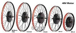 Mountain Bicycle Front Rear Conversion Ebike Kit 20 24 26 27.5 28 29'' 700C