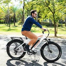 Mountain Electric Bicycle Addmotor M-550 750W 16Ah 26 Fat E-Bike Moped Bike LCD