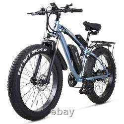 New Electric Bicycle 1000w 48v suvs Mountain ebike fat tire Electric Moped Adult