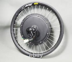 New USA 20inch 48V 500W Front Wheel E-bike Conversion Kit Electric Bike Modified