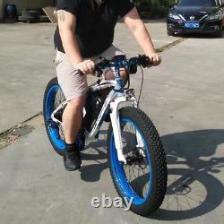 RICHBIT TOP-012 Electric Bicycle Bike 48V 1000W 21Speed E-bike 26'' 4.0 Fat Tire