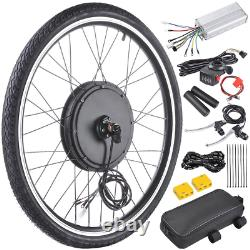 ReaseJoy 36V 500W 26 Front Wheel Electric Bicycle Motor Conversion Kit E-Bike