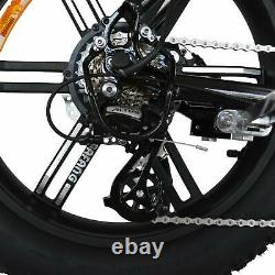 Refurbished 750W Electric Bicycle Addmotor M-60 R7 20 Fat Tire Cruiser Ebike