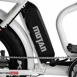 Refurbished 750W Electric Bike Addmotor M-66 R7 Step-Thru EBike, 7 Speeds Gear