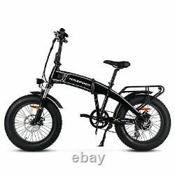 Refurbished Electric Folding Bicycle1000W 48V14AH MaxFoot MF-19 E Bike Black