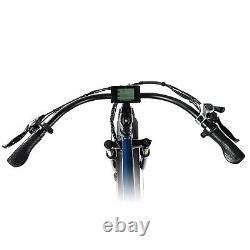 Retro 750W 13A MaxFoot Electric Bicycle 26 FatTire Beach Cruiser MF-18P E-Bike