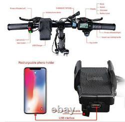 Samebike 20LVXD30 Electric Bike 20 Power Assist Foldable E-Bike 350W 48V 10.4AH