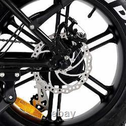 Shimano Electric Folding Bike 750W Addmotor MOTAN M-150 R7 48V Fat tire eBike