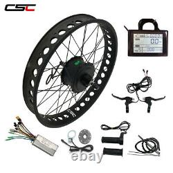 Smart Brushless hub Motor Snow Fat tyre electric e Bike Kit 250W 20'' 24'' 26'