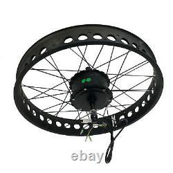 Smart Hub Motor Wheel Snow Beach fat Tire e bike Kit 500W 36v electric bicycle