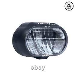 Supernova 25 km/h M99 Mini PRO 5-12V DC, 1150 Lumen, 260 Lux E-Bike Light Black