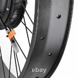 1000w 48v 26 Roue Avant Vélo Électrique E-bike Conversion Cycling Hub Kit