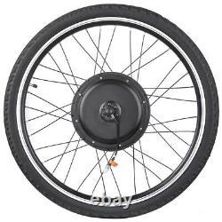 1000w Électrique Vélo Moteur Kit De Conversion LCD Meter Ebike Cycling Front Wheel