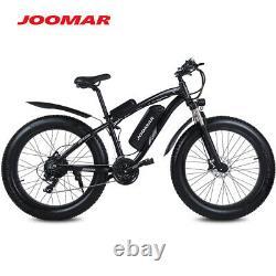 1000w Vélo Électrique E Fat Tire Snow Mountain Bicycle Li-batterie