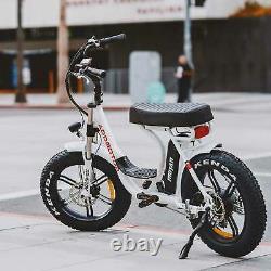 14ah 750w Vélo Électrique Addmoteur Motan M-66 R7 Step-thru Cruiser Vélo E-bike